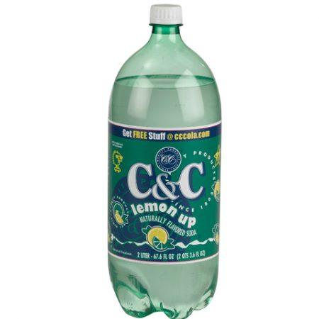 C&C Lemon Up 2L