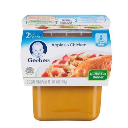Gerber 2nd Apples & Chicken