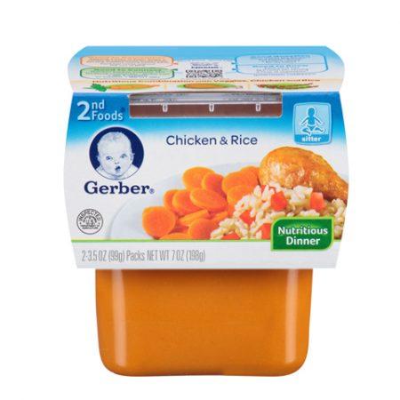 Gerber 2nd Chicken & Rice