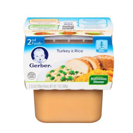 Gerber 2nd Turkey & Rice