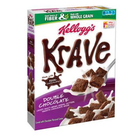 Krave Double Chocolate Cereal