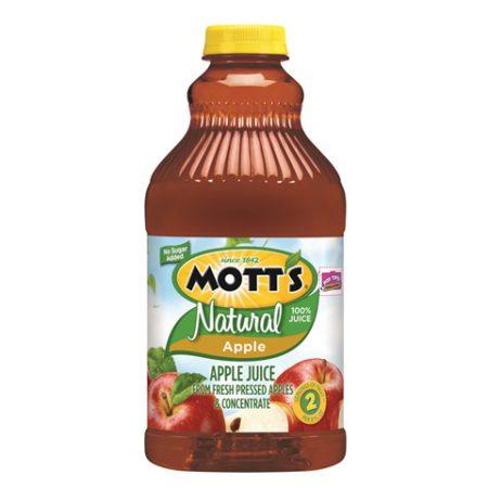 Natural Apple Juice 64z