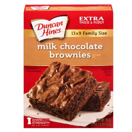 DH Milk Chocolate Brownies