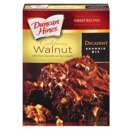 DH Walnut Brownie Mix