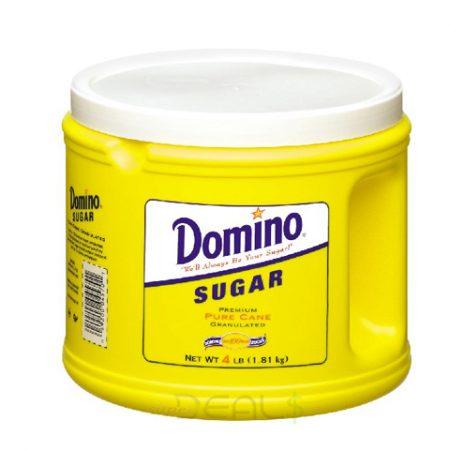 Domino Sugar Canister 4lb