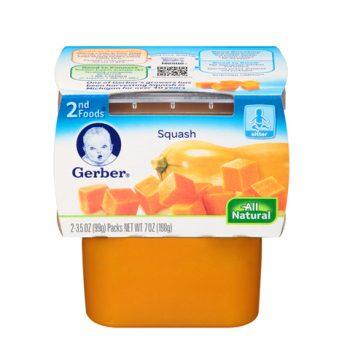 Gerber 2nd Squash 1