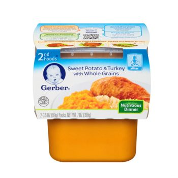 Gerber 2nd Sweet Pot/Turkey 1
