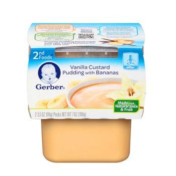 Gerber 2nd Vanilla Custard 1