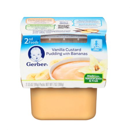 Gerber 2nd Vanilla Custard
