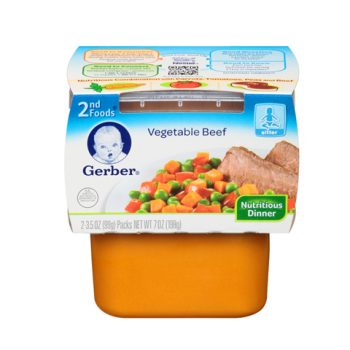 Gerber Vegetable Beef 1