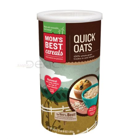 Mom's Best Quick Oats 42z