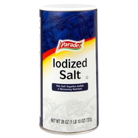 Parade Salt Iodized 26z
