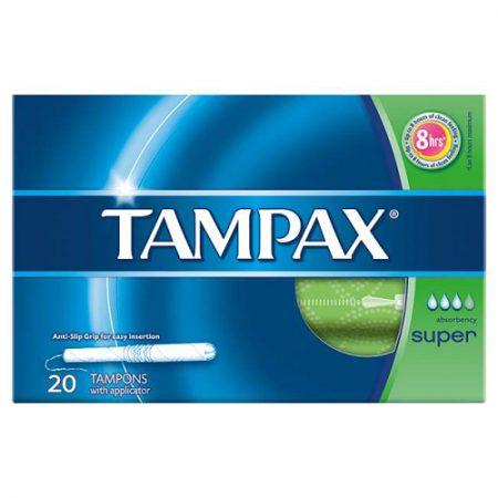 Tampax Super 20ct