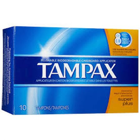 Tampax Super Plus 10ct