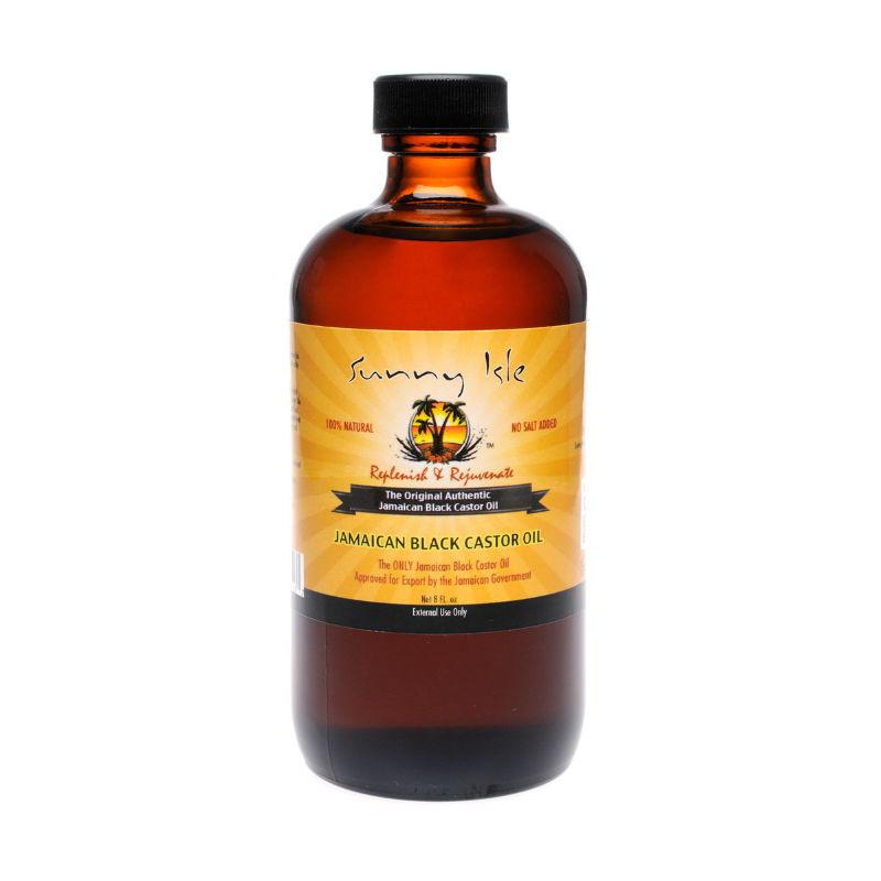 Sunny Isle Jamaican Black Castor Oil 8 Oz Superdeals